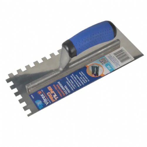 Vitrex 102909 Professional Stainless Steel 10mm Notched Adhesive Trowel 11 x 4½""